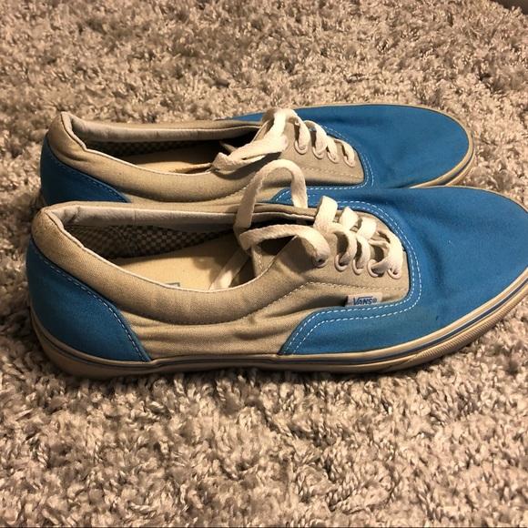 3/25 ! Like new Men's Blue and Grey Vans